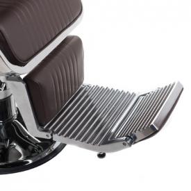 Fotel Barberski Lumber BH-31823 Brązowy #11