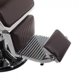 Fotel Barberski Lumber BH-31823 Brązowy #13