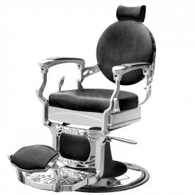 Gabbiano Fotel Barberski President Czarny #2