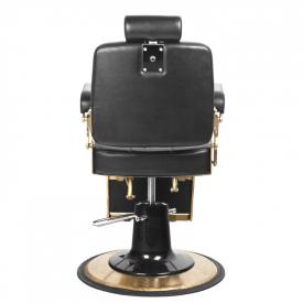 Gabbiano Fotel Barberski Boss Czarny #3