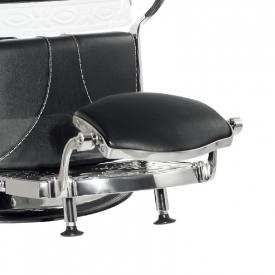 Gabbiano Fotel Barberski Lord Czarny #3
