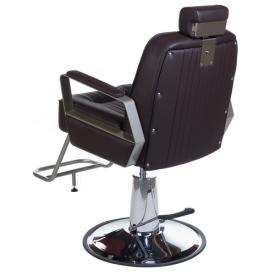 Fotel Barberski HOMER BH-31237 Brązowy #7