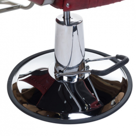Fotel Barberski HOMER BH-31237 Czerwony #7