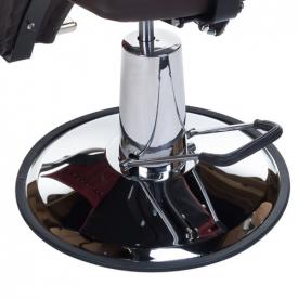Fotel Barberski HOMER II BH-31275 Brązowy #7