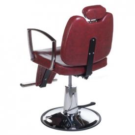 Fotel Barberski HOMER II BH-31275 Czerwony #2