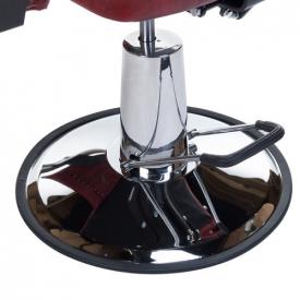 Fotel Barberski HOMER II BH-31275 Czerwony #7