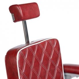 Fotel Barberski LUMBER BH-31825 Burgund LUX #6