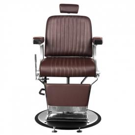 Gabbiano Fotel Barberski Continental Brązowy #3