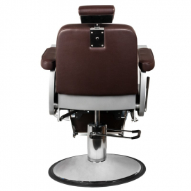 Gabbiano Fotel Barberski Continental Brązowy #4