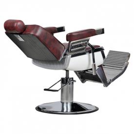 Fotel Barber Bordo #6
