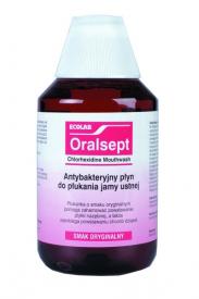 Oralsept - Chlorhexidine Mouthwash Oryginalny, 300 ml