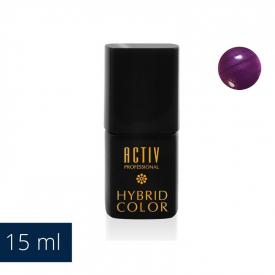 Lakier Hybryd UV LED M09 Purple Rain Śliwkowy Fiolet 15ml #1
