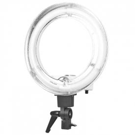 """Lampa Light Ring 12"""" 35w Fluoresce Biała + Statyw #2"""