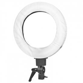 """Lampa Light Ring 12"""" 35w Fluoresce Biała + Statyw #3"""
