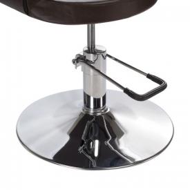 Fotel Fryzjerski Paolo BH-8821 Brązowy #2