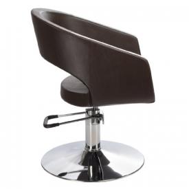 Fotel Fryzjerski Paolo BH-8821 Brązowy #3