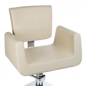 Fotel Fryzjerski Vito BH-8802 Kremowy #2