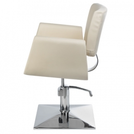Fotel Fryzjerski Vito BH-8802 Kremowy #3
