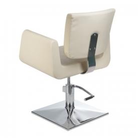 Fotel Fryzjerski Vito BH-8802 Kremowy #4