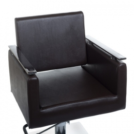 Fotel Fryzjerski MILO BH-6333 Brązowy #3