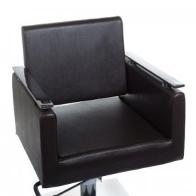 Fotel fryzjerski MILO BH-6333 czarny #2