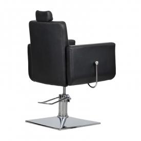 Fotel Fryzjerski Bell Bis Czarny #6