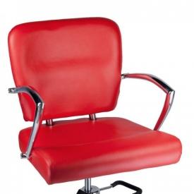 Fotel Fryzjerski LIVIO Czerwony BH-6369 #2