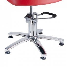 Fotel Fryzjerski LIVIO Czerwony BH-6369 #4