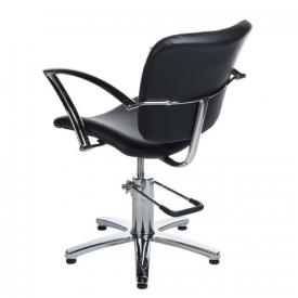 Fotel Fryzjerski Dario Czarny BH-6113 #4