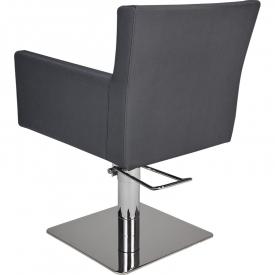 Fotel Fryzjerski Isadora Czarny Baza Kwadrat W 48h #3