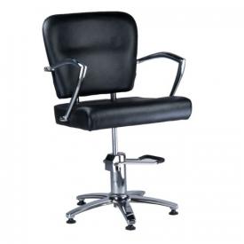 Fotel Fryzjerski LIVIO Czarny BH-6369