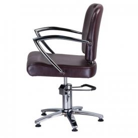 Fotel Fryzjerski Livio Brązowy BH-6369 #2