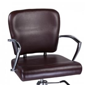 Fotel Fryzjerski Livio Brązowy BH-6369 #3