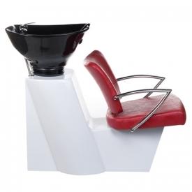 Myjnia Fryzjerska LIVIO Czerwona BH-8012 #2