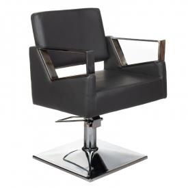 Fotel fryzjerski Arturo BR-3936A czarny #1