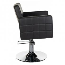 Fotel Fryzjerski Ernesto Czarny BM-6302 #1