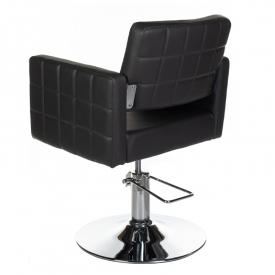 Fotel Fryzjerski Ernesto Czarny BM-6302 #2