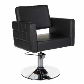 Fotel Fryzjerski Ernesto Czarny BM-6302