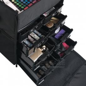 Kufer Look Materiałowy 019 Czarny #3