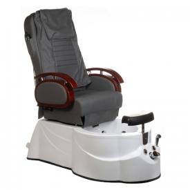 Fotel do pedicure z masażem BR-3820D Szary