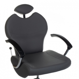 Fotel do pedicure z masażerem stóp BR-2301 szary #2