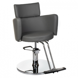 Fotel fryzjerski LUIGI BR-3927 szary #1