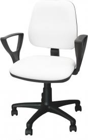 Krzesło kosmetyczne z podłokietnikami KB02