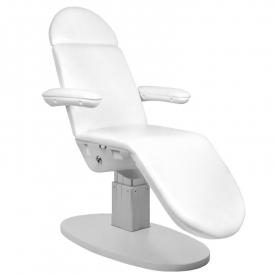 Fotel Kosmetyczny Elektr. Eclipse 3 Siln. Biały