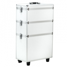 Kufer Kosmetyczny S-013b Silver
