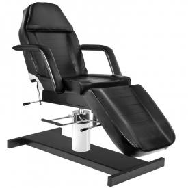 Fotel kosmetyczny hyd. A 210 czarny
