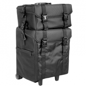 Kuferek materiałowy look 500bt czarny #1