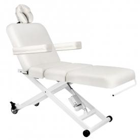 Leżanka elektr. Do masażu azzurro 336b 3siln. Biała #1