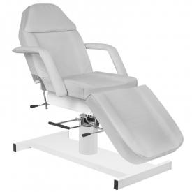Fotel kosmetyczny hyd. A 210 szary #1