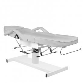 Fotel kosmetyczny hyd. A 210 szary #4